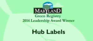 Maryland Green Registry 2014 Award