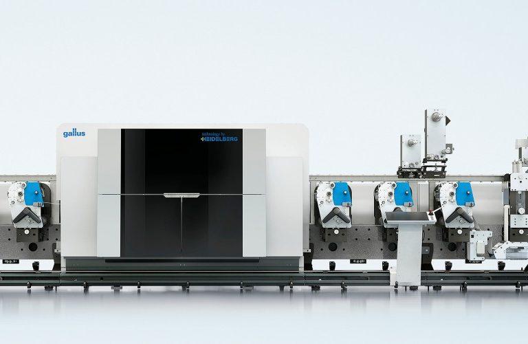 Gallus Hybrid Digital-Flexo Press