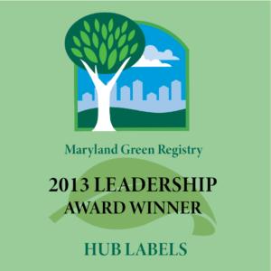 Maryland Label Manufacturer Leadership Award