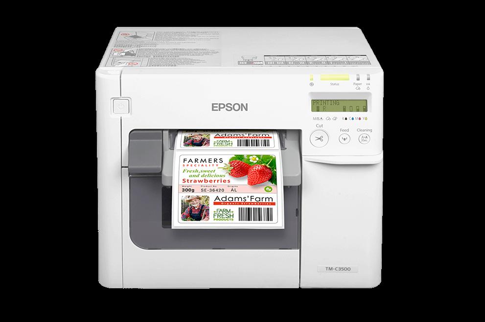 Epson Inkjet C3500 Label Printer