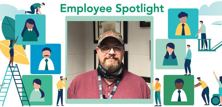 December 2020 Employee Spotlight: Cory Martin, label converting supervisor