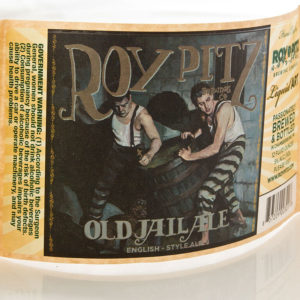 The label for Roy Pitz Old Jail Ale
